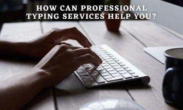 hire typing services company? a - larry-john   ello