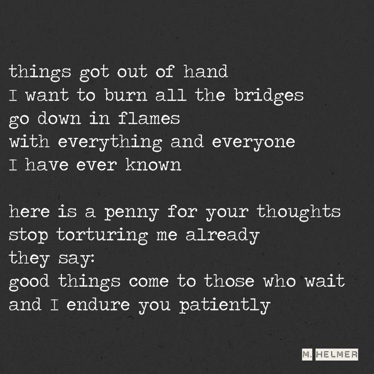 feels fucked love. 18/2021 - poetry - helmer_poetry | ello
