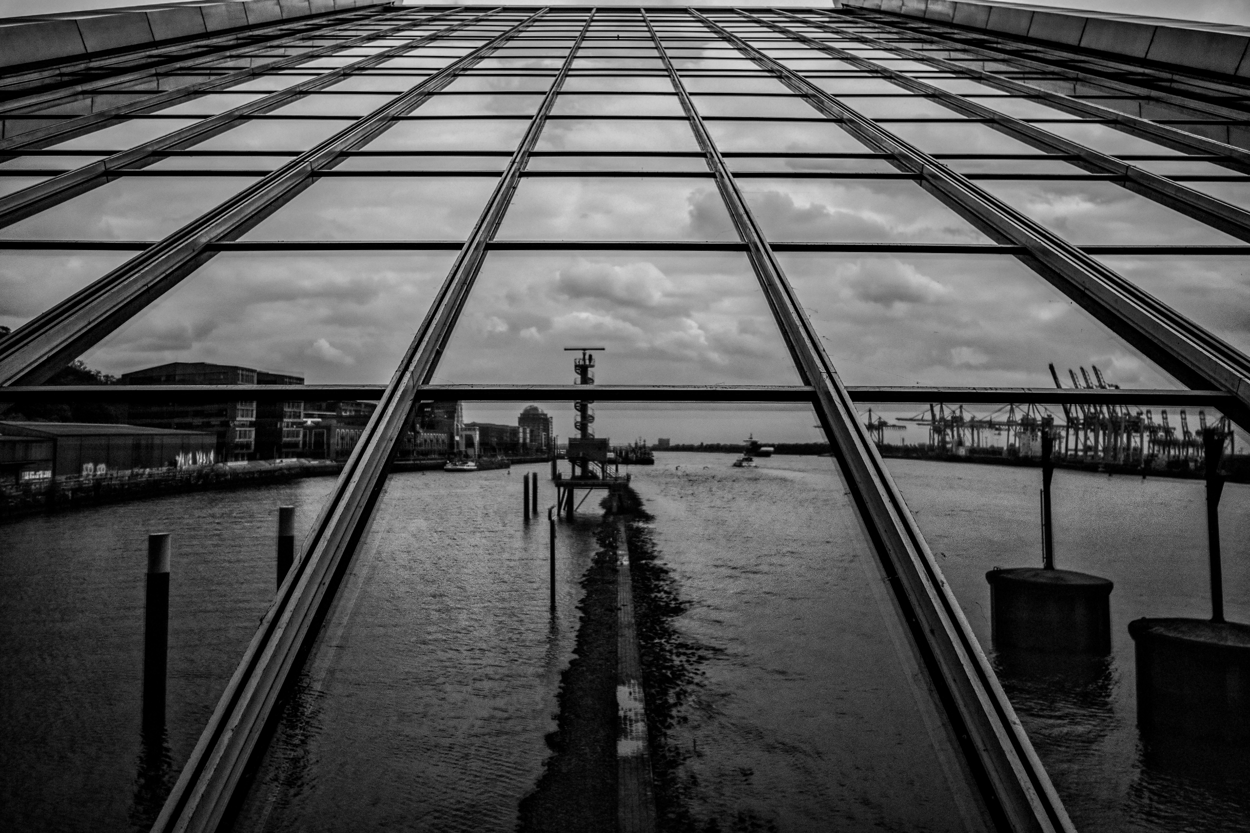 Hamburg Dockland - blackandwhitephotography - hjsphoto   ello
