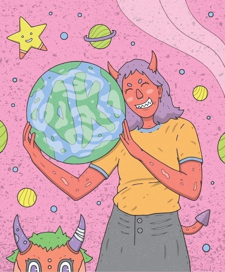 Devilish World  - illustration, digitalart - devilishkids | ello