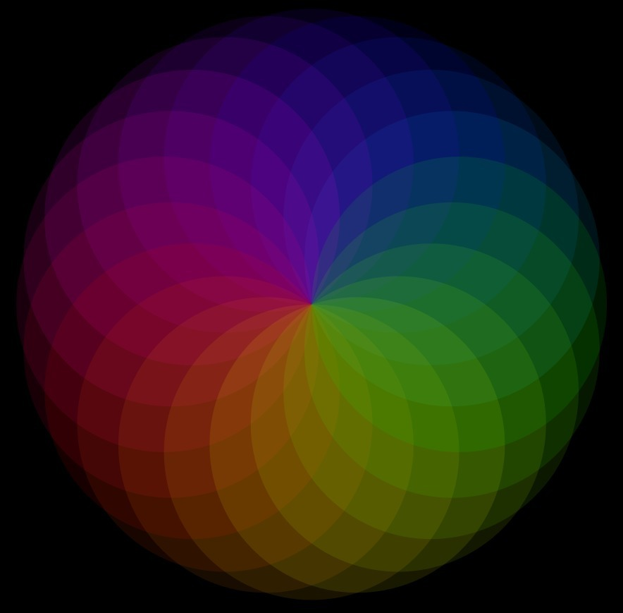 algorithmic circle art - mathart - tiago_hands | ello