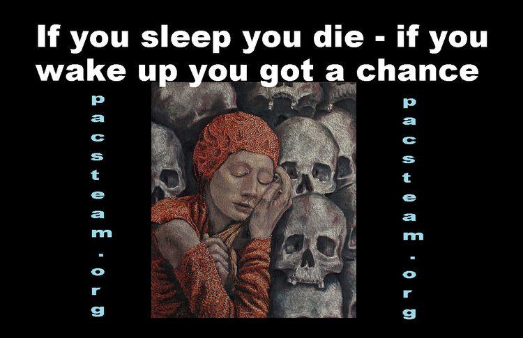 sleep die - wake chance - pacmanpacks   ello