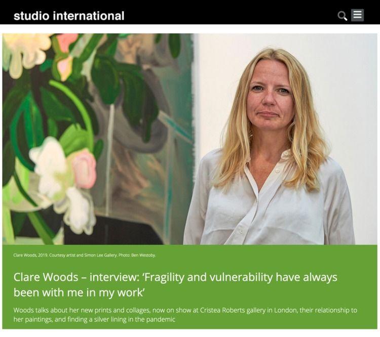 Clare Woods – interview Initial - studiointernational | ello