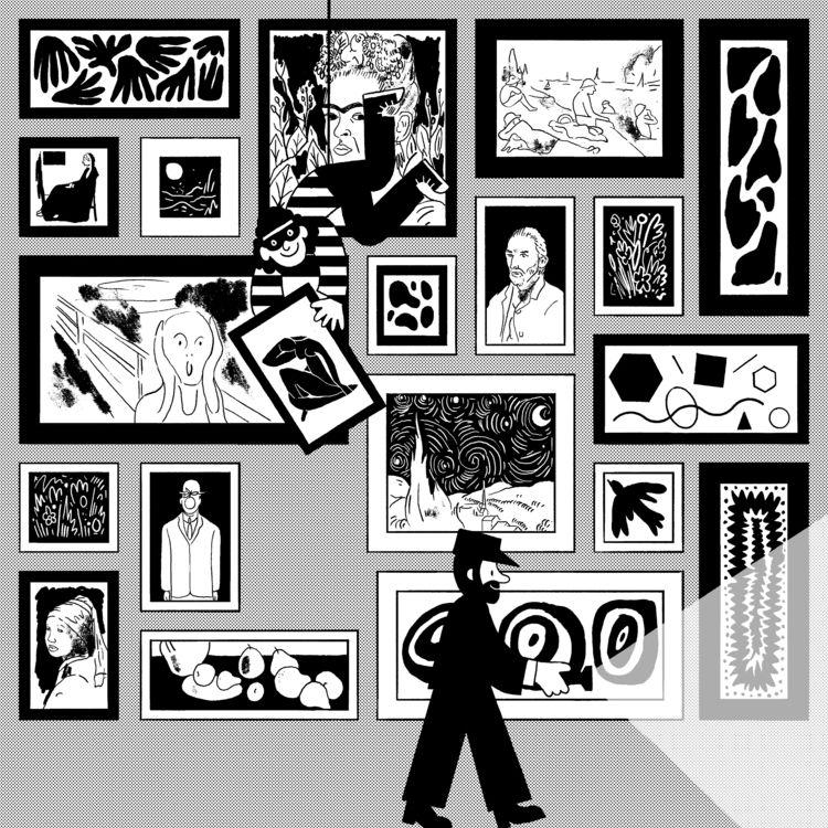 Art Theif - illustration - andrewwerdna | ello