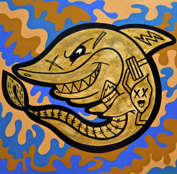Toon shark mys eries camo backg - andydass   ello