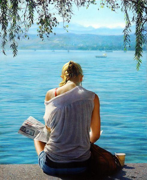 Amazing realistic paintings Spa - nettculture | ello