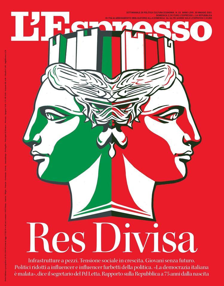 Cover illustration magazine, 75 - canuivan   ello