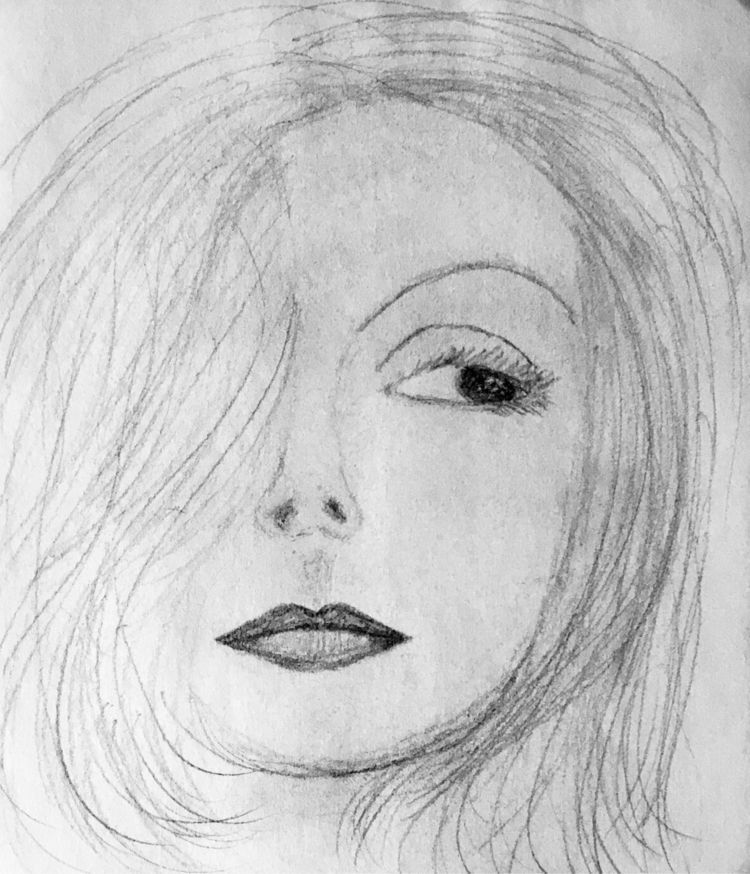 Garbo Pencil - PRIDE, art - katemoriarty | ello