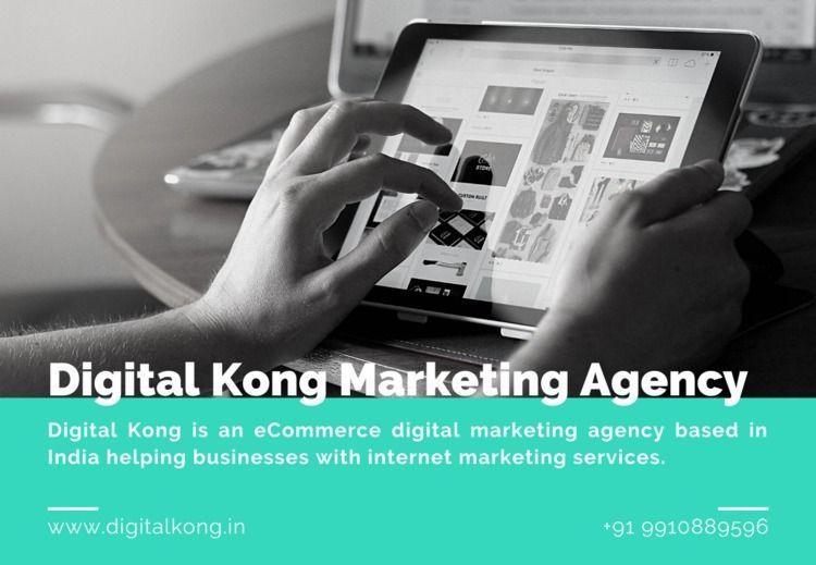 Digital Kong Marketing Agency  - digitalkongindia   ello