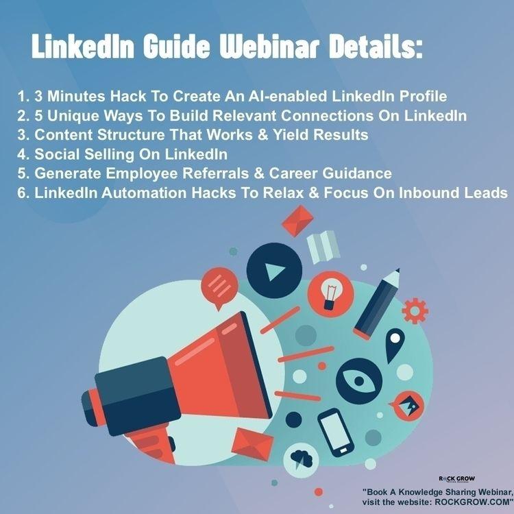 Schedule webinar find jobs Link - rockgrowweb | ello