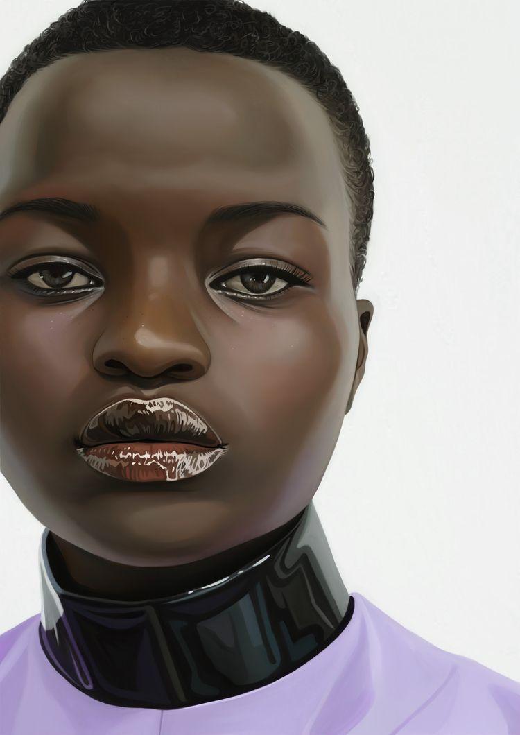 Portrait 'GucciBeauty' - digita - eunjeongyoo | ello