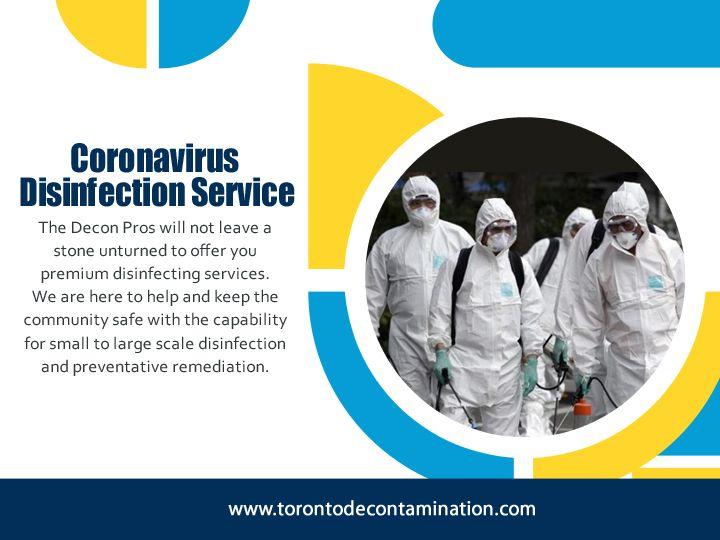 Coronavirus Disinfection Servic - torontodecontamination | ello