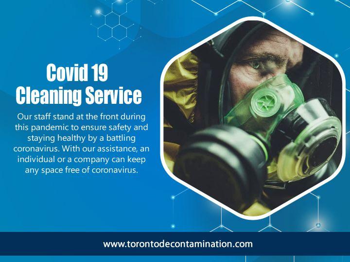 Covid 19 Cleaning Service Toron - torontodecontamination | ello