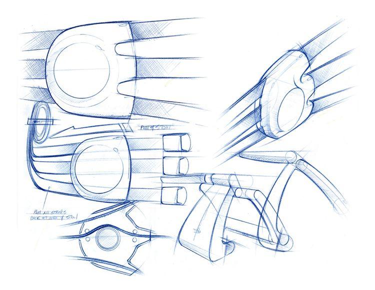 Process insight: blue pencil sk - jamesowendesign | ello