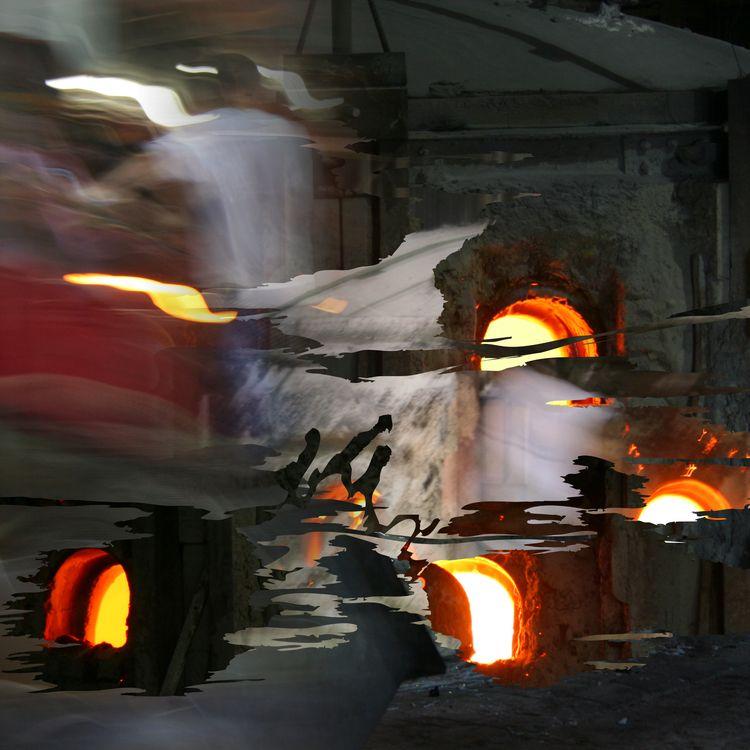 Kokomo Opalescent Glass - photoremix - paulsmedberg | ello