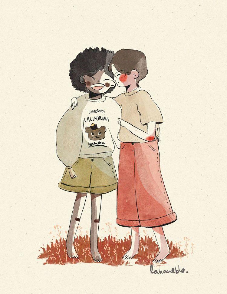 Happy pride - illustration, art - lananeble | ello