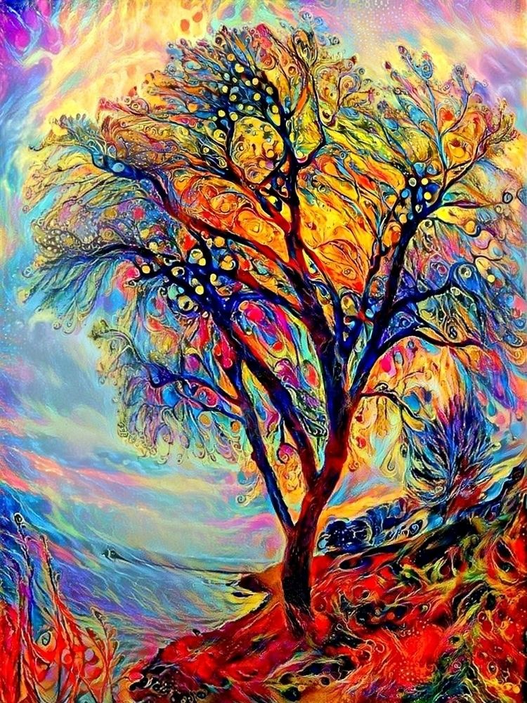 Peacock tree - photography - kenlong | ello