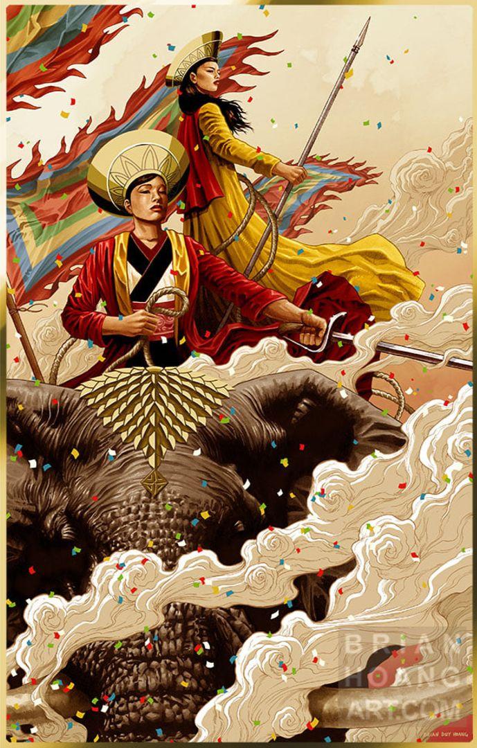 Trung Sisters' Brian Hoang. 11  - geekynerfherder   ello