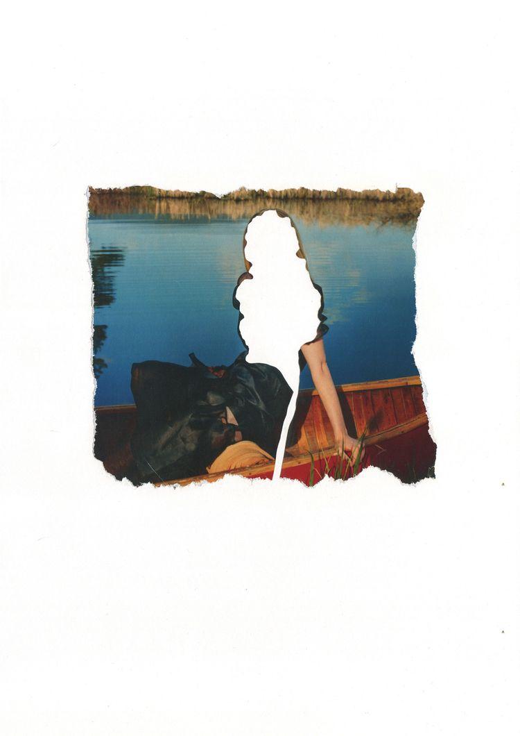 Untitled paper, collage, 29,7×4 - annakiartist   ello