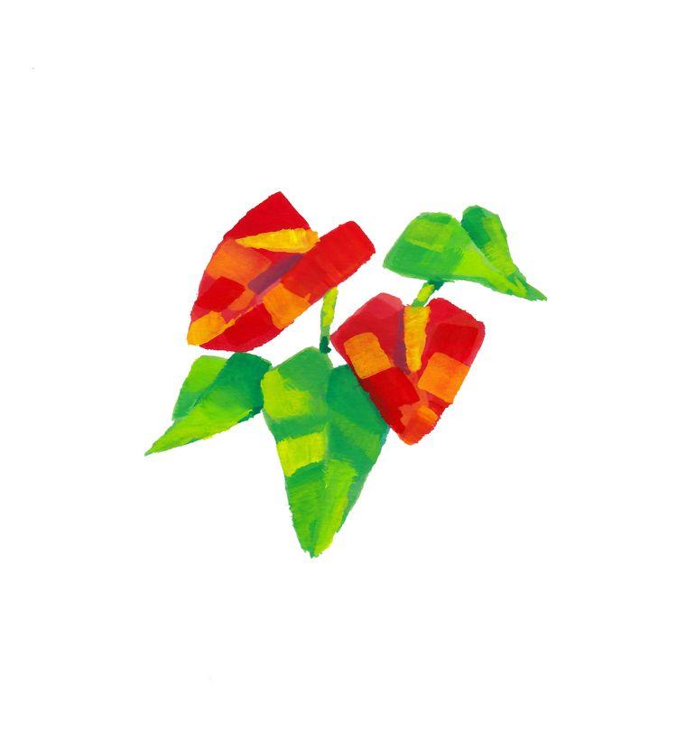 Mini painting - Anthurium origi - claireb | ello