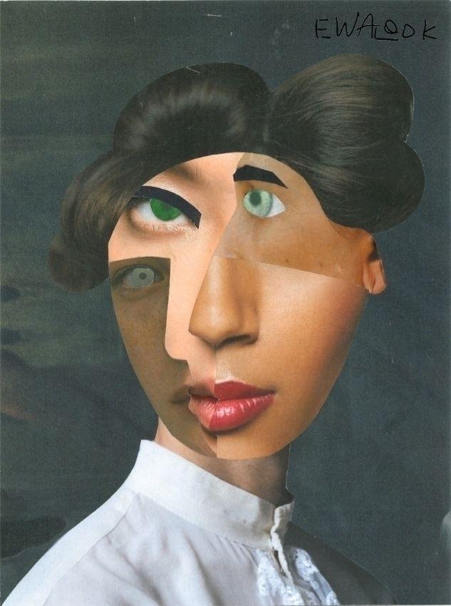 Hiro Osaka. handmade collage. J - ewalook | ello