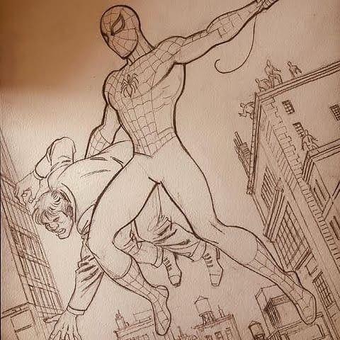 spiderman - kingofdraw | ello