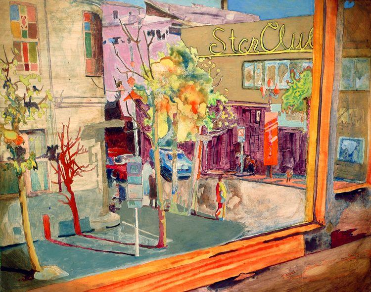 Star club. Painting Peter Hallb - peterhallberg   ello