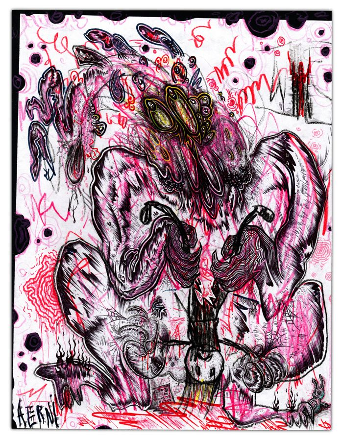 Interdimensional Demonic Bunny  - justinaerni   ello