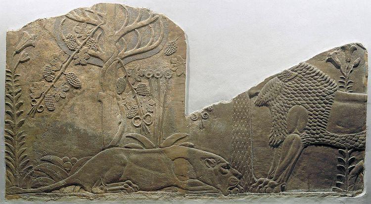 Lions garden. Assyrian, reign A - dilek_murgul   ello