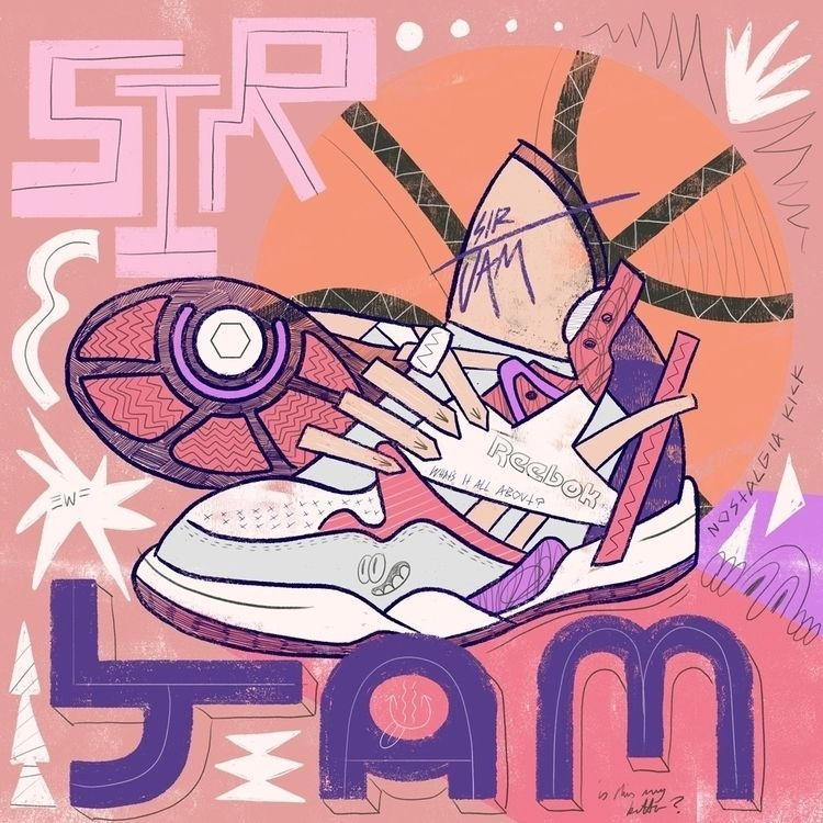 Sir Jam version - illustration, art - eastworthingsfinest   ello