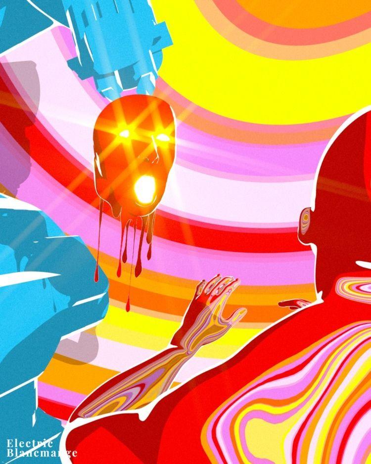 electricblancmange, digitalart - electricblancmange   ello