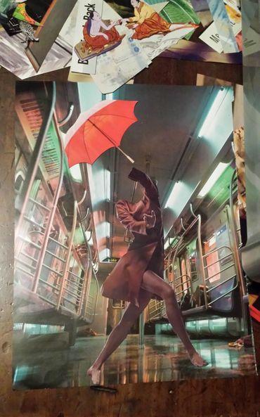 Tabletop Collages - ellocollage - strangeworld   ello