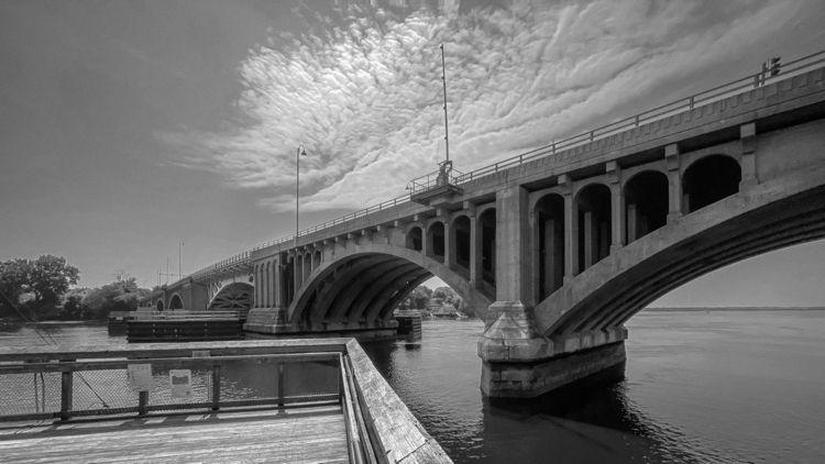 Washington Bridge, Devon CT :co - photografia   ello