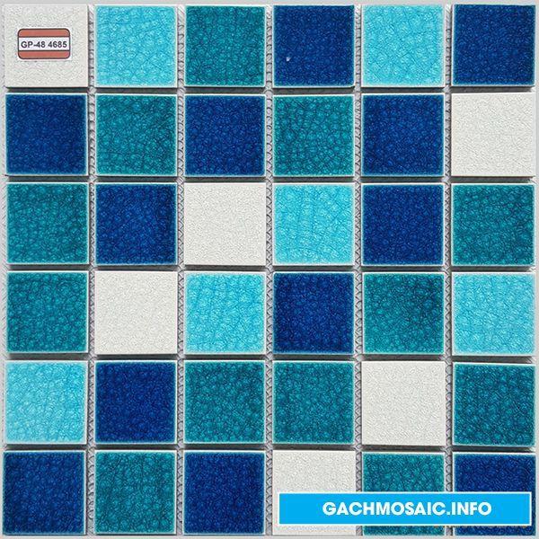 Mẫu gạch mosaic gốm GP - 48 468 - gachmosaicinfo1 | ello