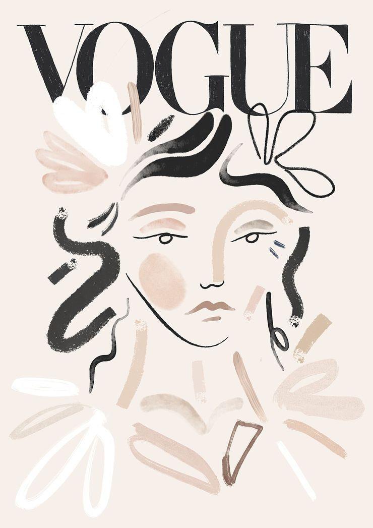 Vogue - illustration, vogue, painting - kitagar | ello