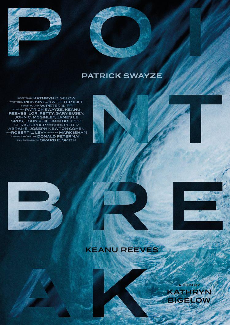 Film poster Point Break (USA, 1 - mathieuvancamp | ello