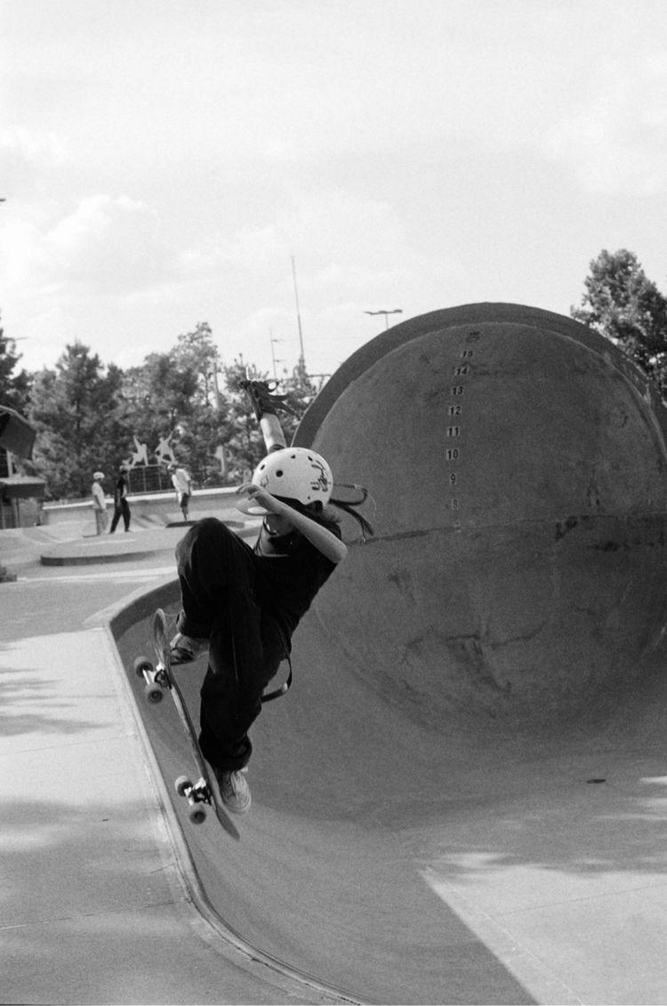 skatepark days. Developed - kodaktrix400 - _five_ | ello