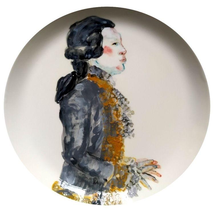 underglaze painting + porcelain - katrinvalgemae | ello