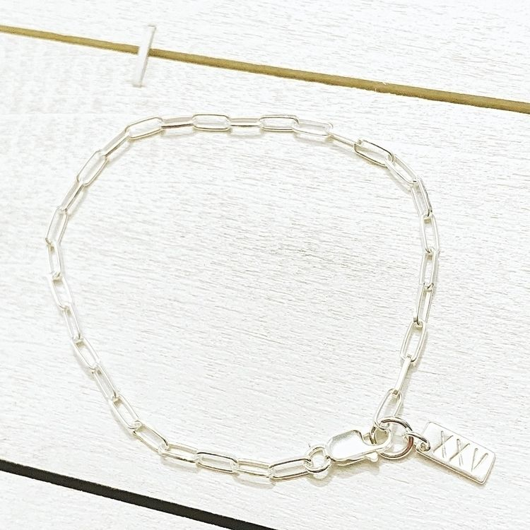 RakSen Long Link Bracelet, hand - raksen | ello