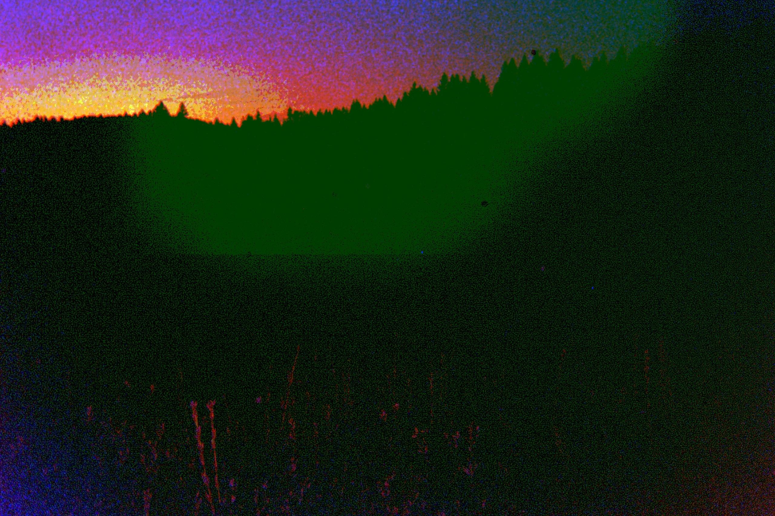 trees sunset sound wave - brianstephenellis | ello