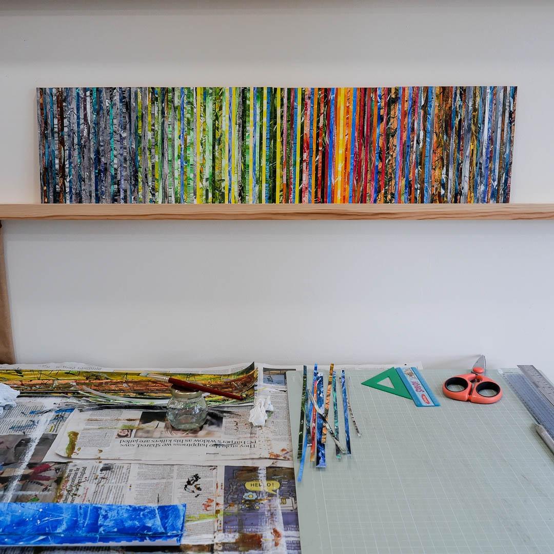 panel series, based colours sea - richardnicholls_uk | ello