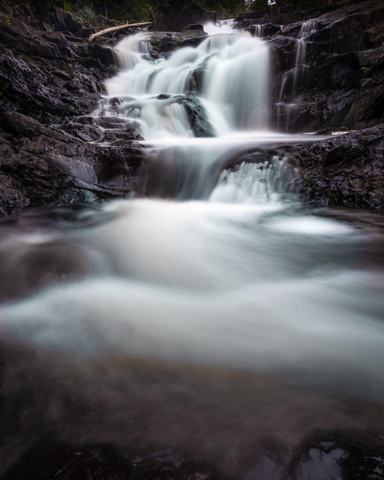 Manitou Falls Cascade push Geor - toddhphoto | ello