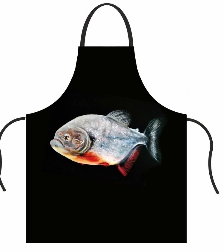 printed Carnivore - apron, mitts - katrinvalgemae | ello