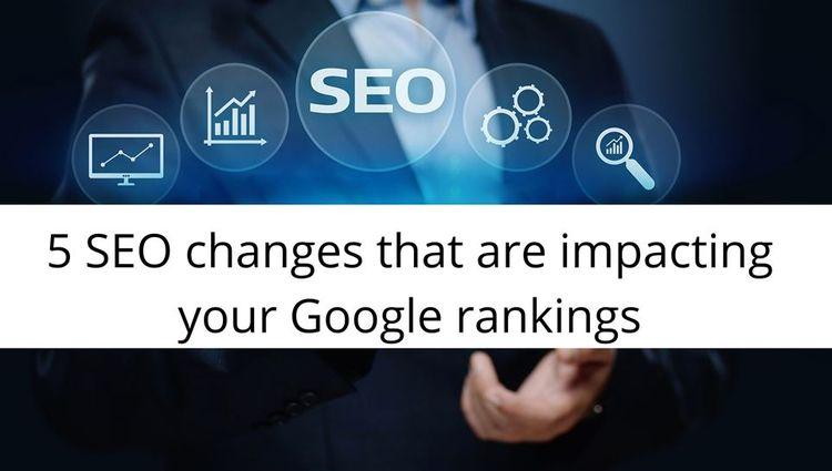 5 SEO impacting Google rankings - ridhiaggarwaldigi   ello