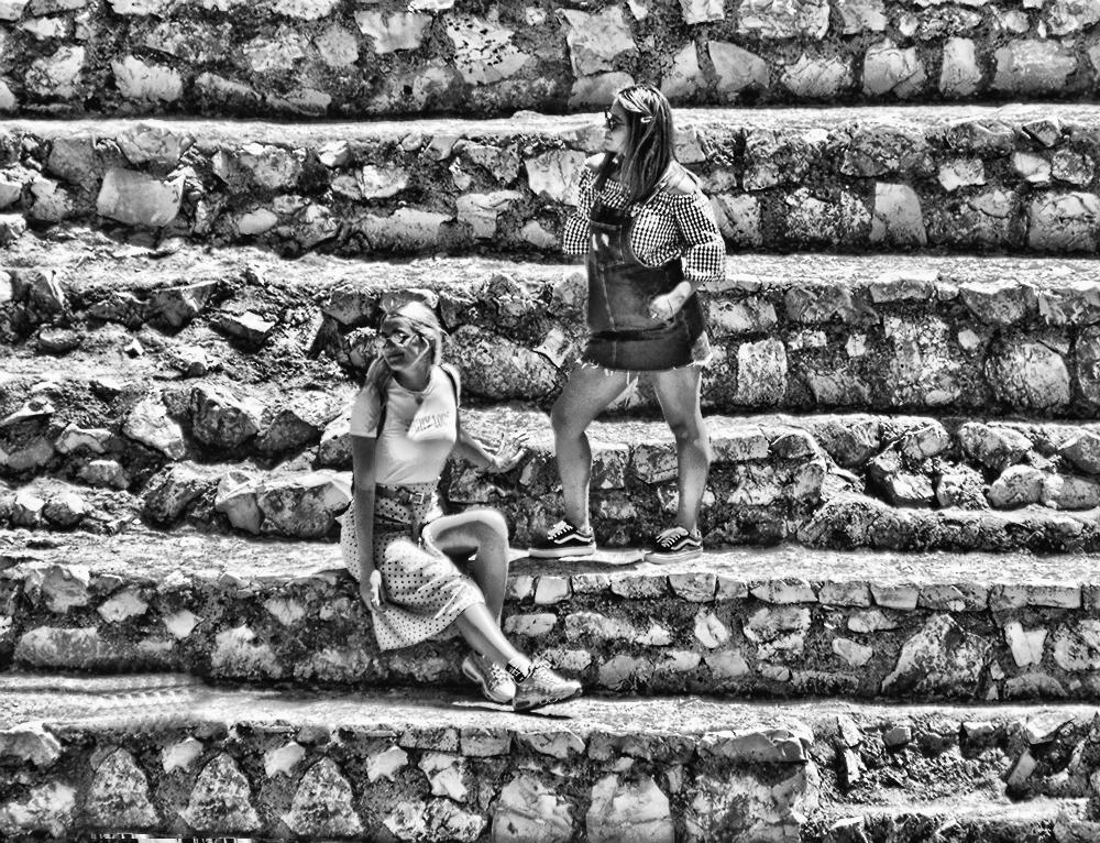 ellophotography - steps, girls, people - cornelgin | ello