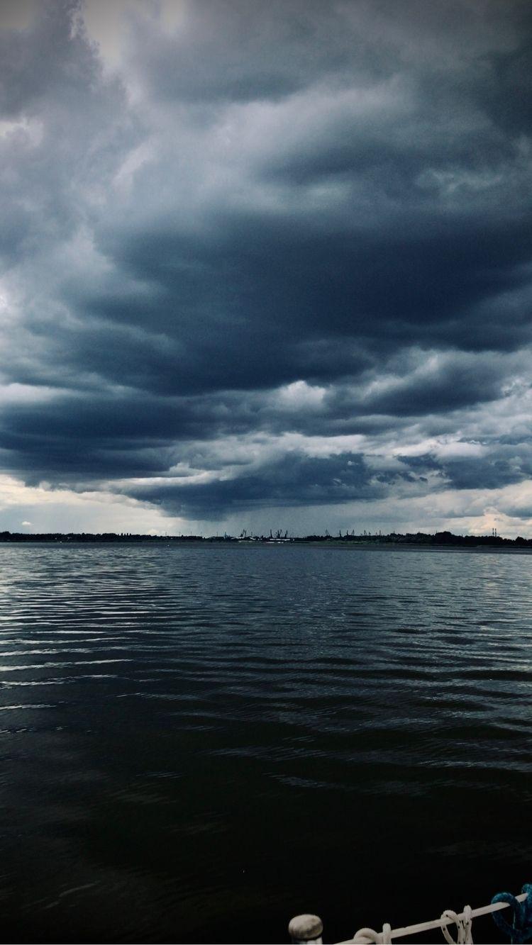Stormy Sky Lake 1500 hours (NE  - blueskipper   ello