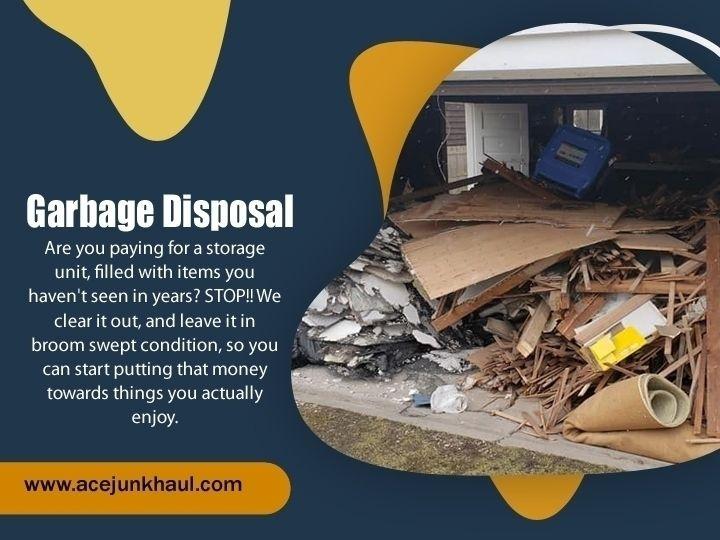 Garbage Disposal Naperville lot - acejunkhaul | ello