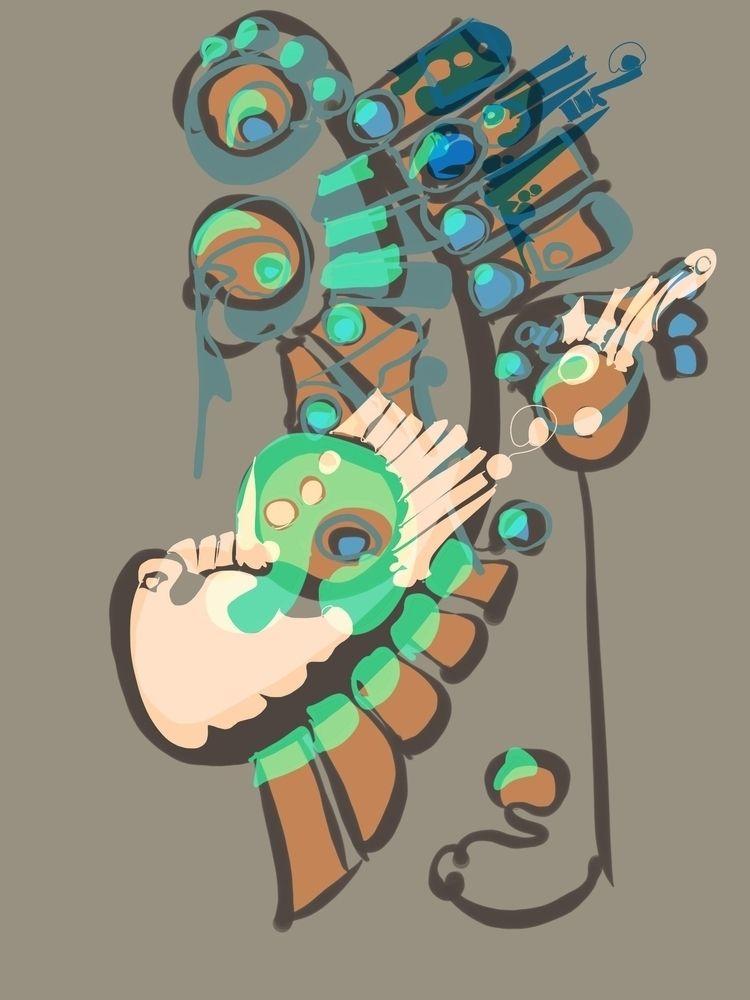 abstract, digitalart - toenstarkweather | ello