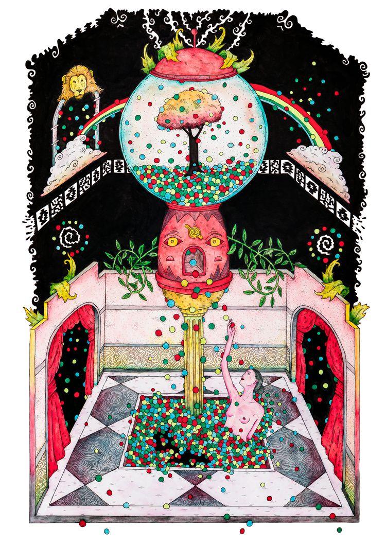 BALLROOM TULPA Personal illustr - tony_jayco | ello