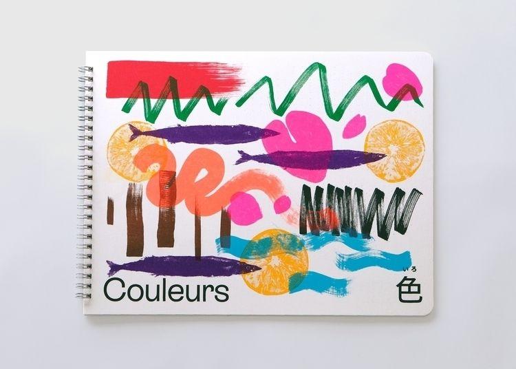 book designed son learn colours - wulffgraphics | ello